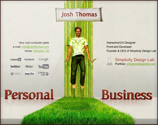 Washington DC, josh thomas, designer
