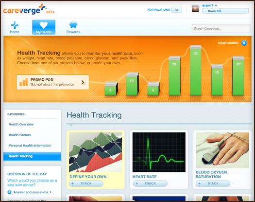 Audax Health,Careverge,josh thomas,interactive,ui,ux